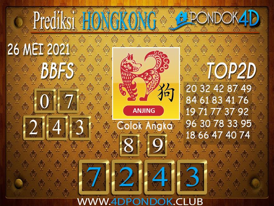 Prediksi Togel HONGKONG PONDOK4D 26 MEI 2021