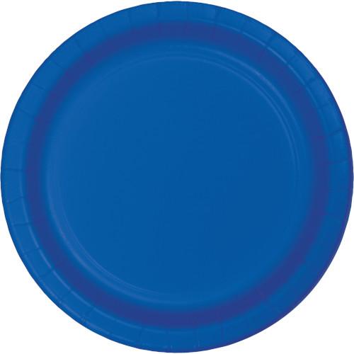 თეფში ლურჯი ქაღალდის 8ც
