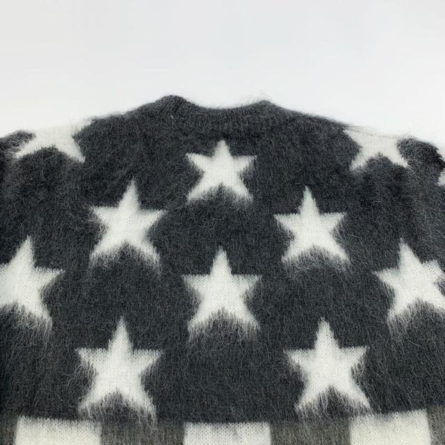 루이비통 USA FLAG MOHAIR JACQUARD CREWNECK