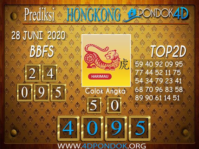 Prediksi Togel HONGKONG PONDOK4D 28 JUNI 2020