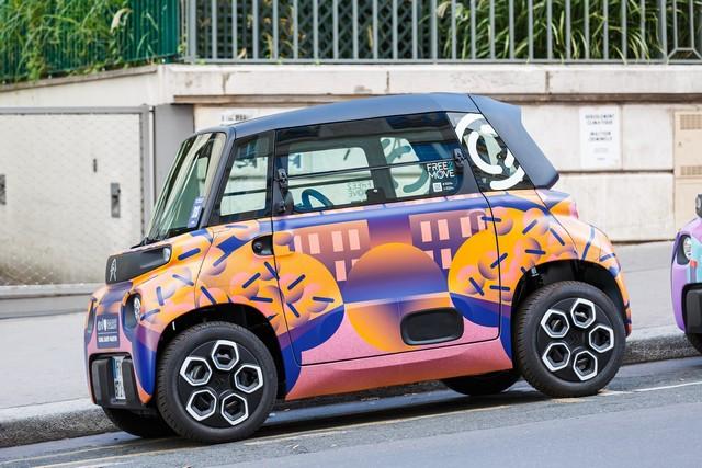 Ami – 100% Ëlectric Présente 20 Designs Inédits Pour Illustrer 20 Quartier De Paris CITROEN-AMI-410-c-stephane-sby-balmy