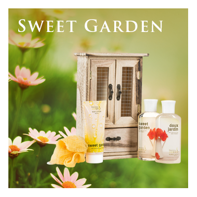 Bath Body and Spa Gift Set in Sweet Garden Fragrance Perfect for Women