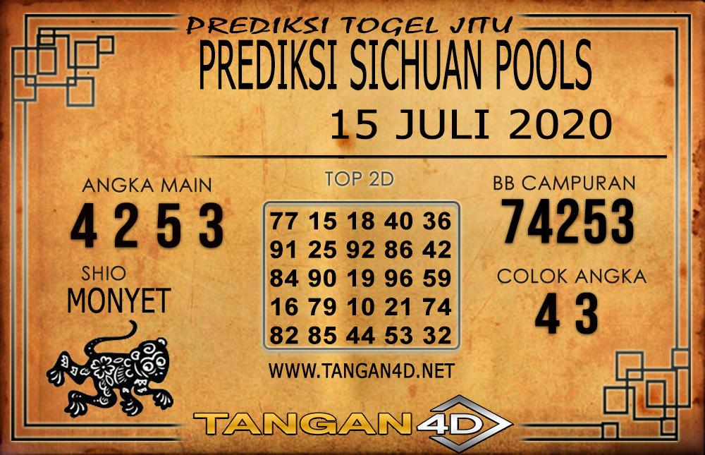 PREDIKSI TOGEL SICHUAN TANGAN4D 15 JULI 2020
