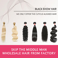 Wholesale Virgin Hair - Black Show Hair
