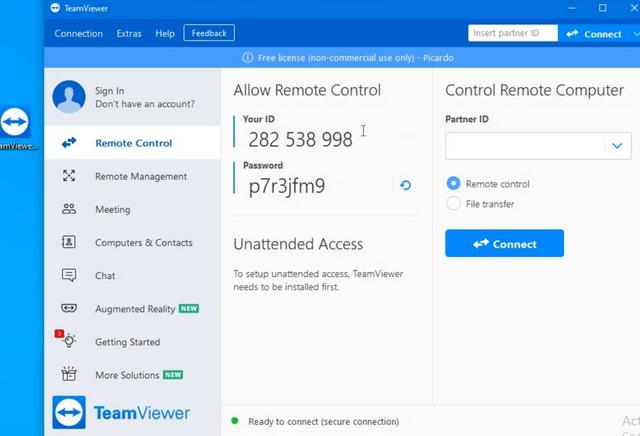 teamviewer instal for windows.