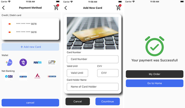 GroMart | Grocery & Vegetables Flutter App Template | UI Kit | Flutter 2.0 - 5