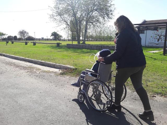 Regionales: Gilbert: Salidas recreativas de personas con discapacidad