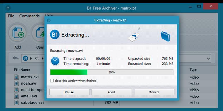 Mejores alternativas con amigable interfaz gráfica a WinRAR para Windows, Linux y Mac.