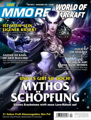 Cover: Pc Games Mmore Magazin No 09 September 2021