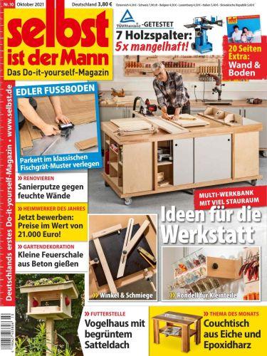 Cover: Selbst ist der Mann Heimwerkermagazin Oktober No 10 2021