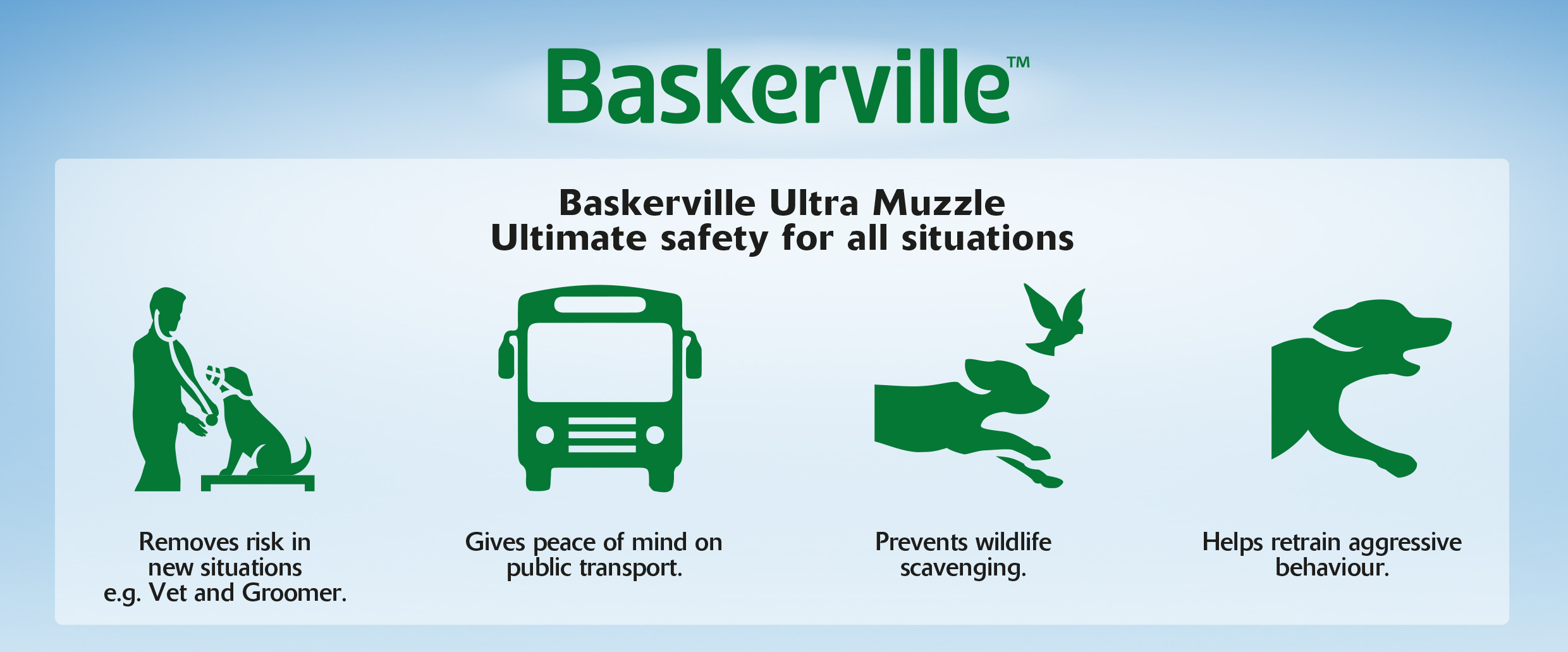 Baskerville Muzzle Situations