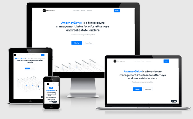 Attorney Drive homepage