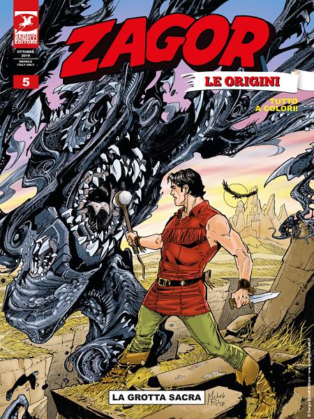 OSCAR ZAGORTENAY 2019 - Migliore copertina - Girone B 1565163678944-png-la-grotta-sacra-zagor-le-origini-05-cover