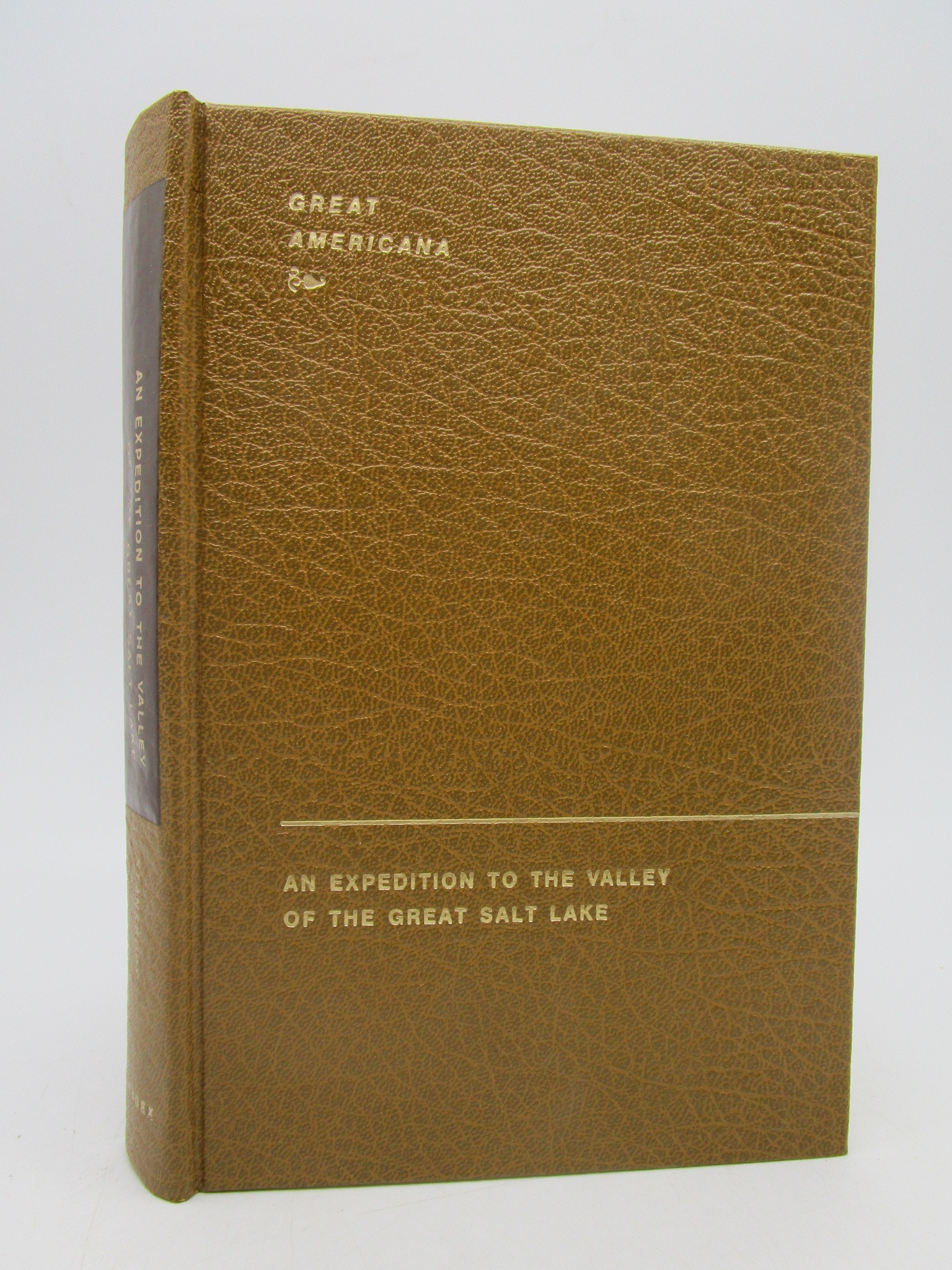 Image for An Expedition To The Valley Of The Great Salt Lake Of Utah