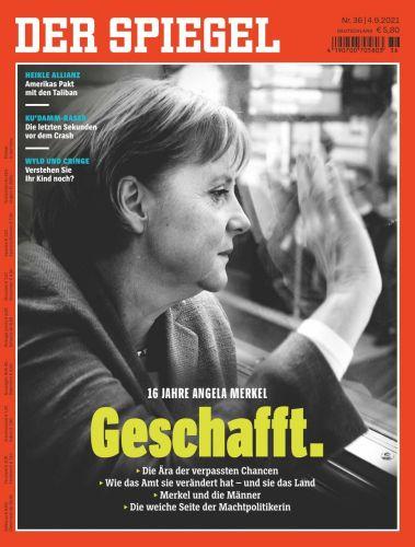 Cover: Der Spiegel Nachrichtenmagazin No 36 vom 04  September 2021
