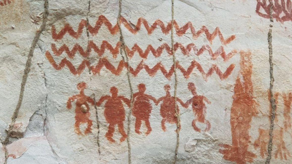 amazon-umjetnost-stijene-drevni-prizor-JOSEIRIARTE4