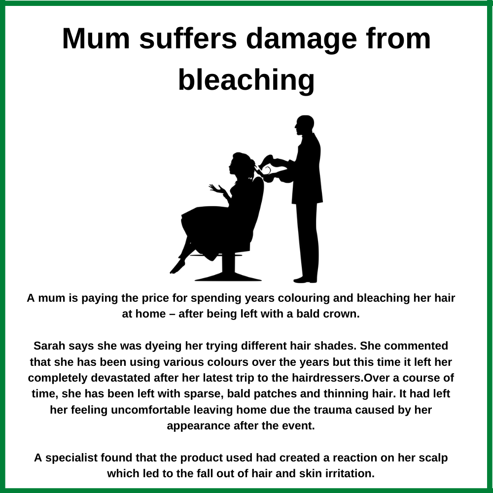 bleaching damage case study