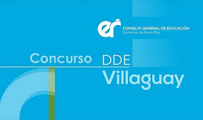 DDE Villaguay: Convocatoria a concurso virtual 10 de mayo 2021