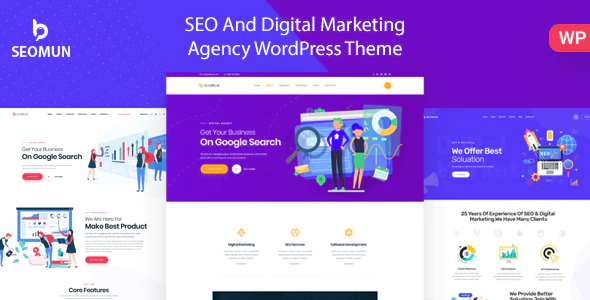 ThemeForest - Seomun v1.0.3 - Digital Agency & Marketing WordPress - 23643859