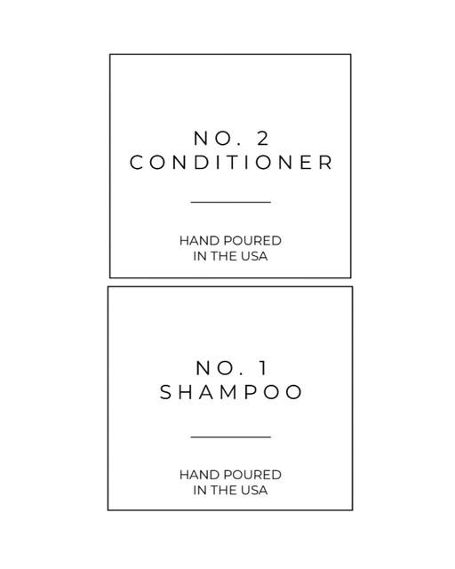 Shampoo-Conditioner-Labels