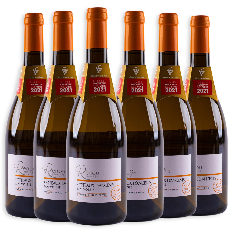 6 sticle x Domaine du Haut Fresne, Malvoisie 2019 750ml