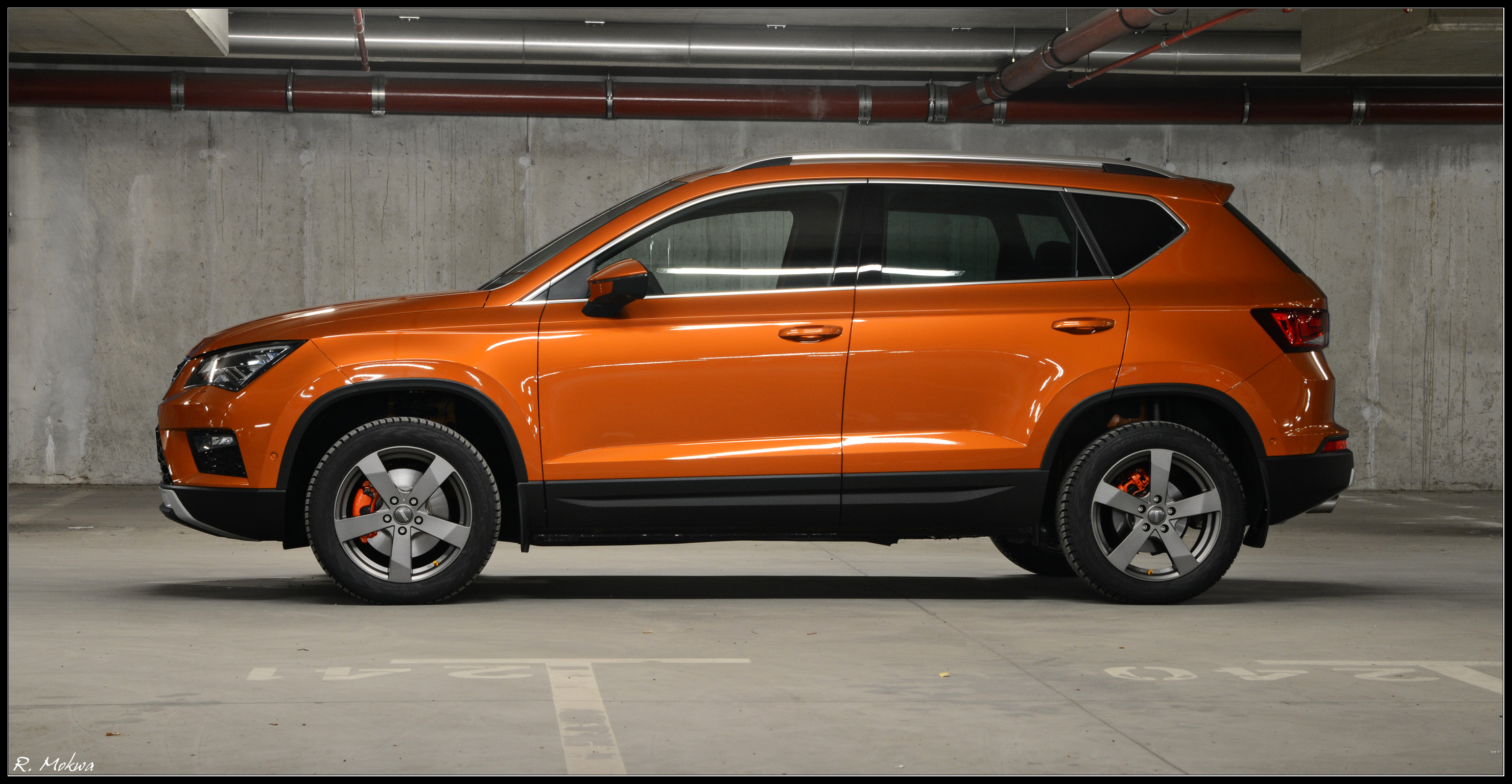 seat ateca xcellence samoa orange custom touches. Black Bedroom Furniture Sets. Home Design Ideas