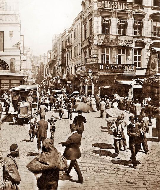 1900'ler Karaköy Meydanı