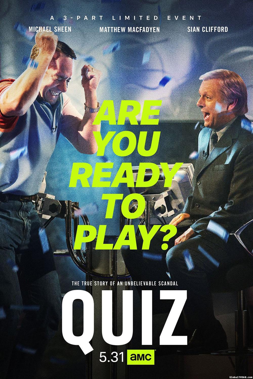 英国ITV电视台2020年春季档新剧 Quiz (益智游戏) 剧情简介、官方海报及官方预告