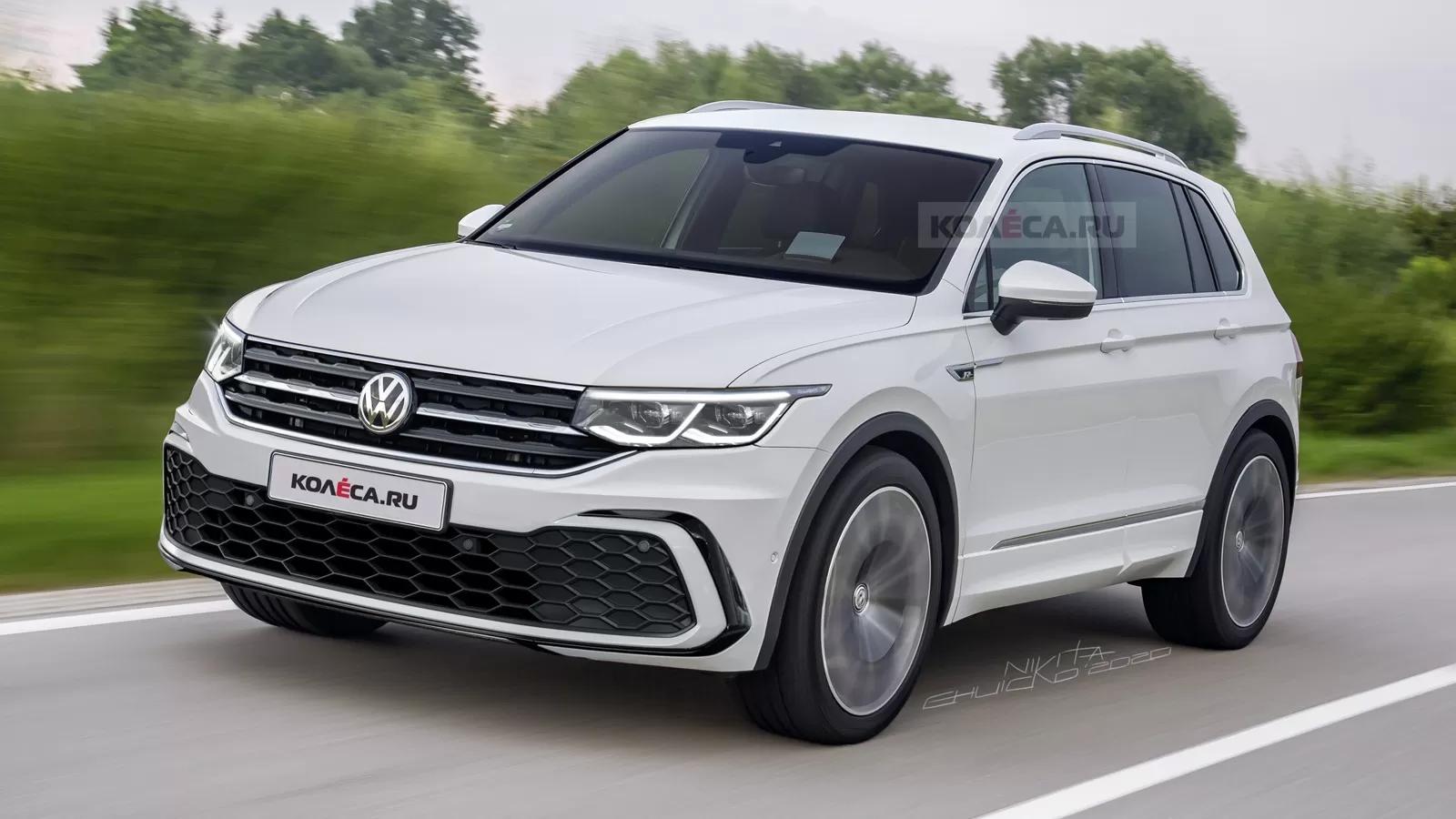 2021 Volkswagen Tiguan II Facelift 11