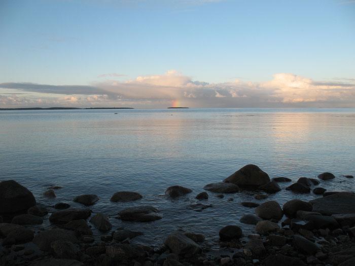 Радуга над Белым морем