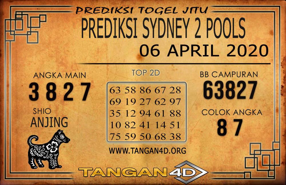 PREDIKSI TOGEL SYDNEY 2 TANGAN4D 06 APRIL 2020