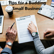 Tips for a Budding Small Business