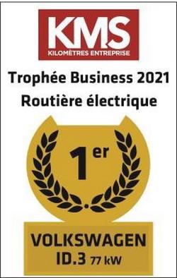 Trophées Business 2021 : l'ID.3 remporte le prix de la Routière Electrique de l'Année Troph-es-business-2021