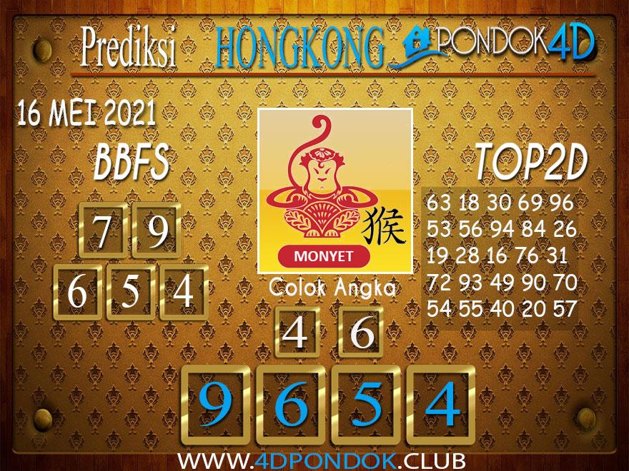 Prediksi Togel HONGKONG PONDOK4D 16 MEI 2021