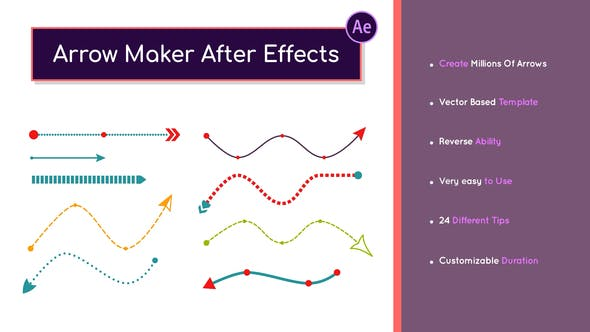 Arrow Maker After Effects 32858646 - Project for After Effects (Videohive)