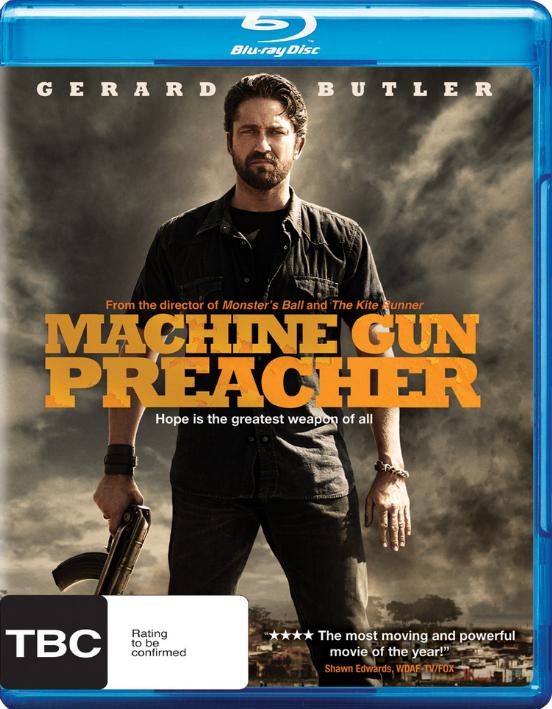 Machine Gun Preacher (2011) Dual Audio Hindi BluRay x264 AC3 400MB ESub 480p