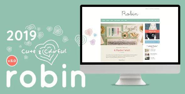 [Image: Robin-v5-0-Cute-Colorful-Blog-Theme.jpg]
