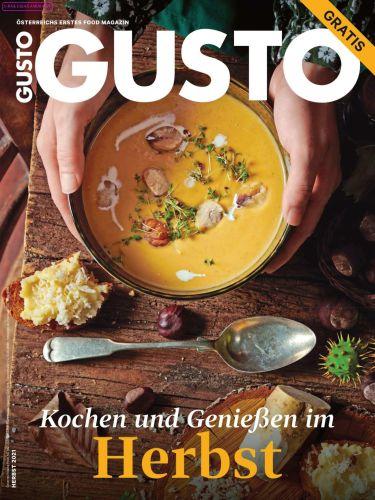 Cover: Gusto Magazin richtig gut kochen No 11 November 2021
