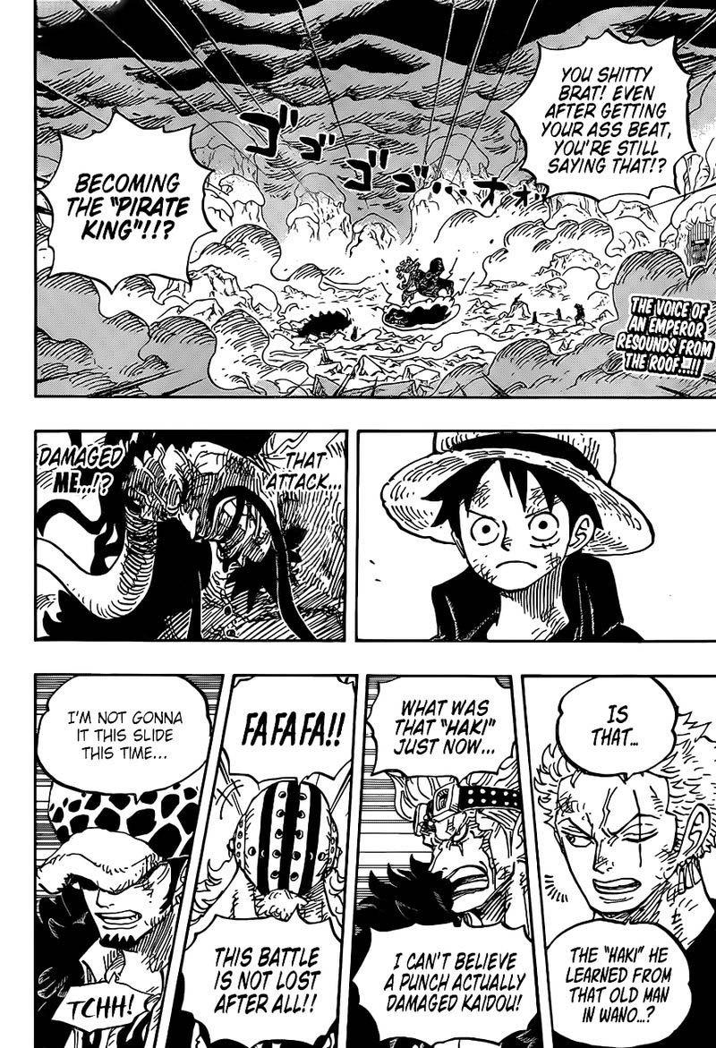one piece manga chapter 1001 - 002