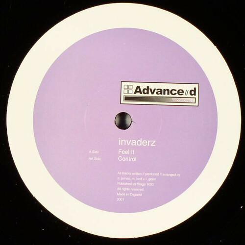 Invaderz - Feel It / Control
