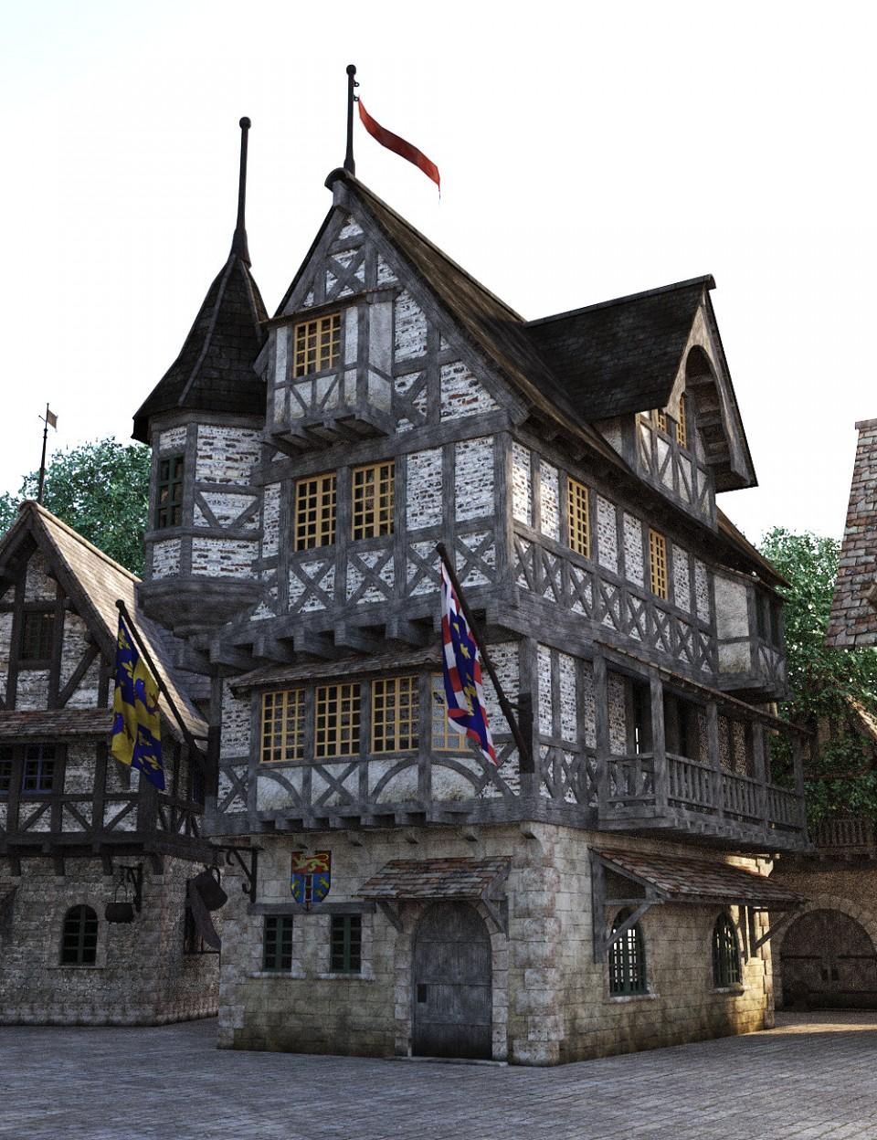 Modular Medieval Village