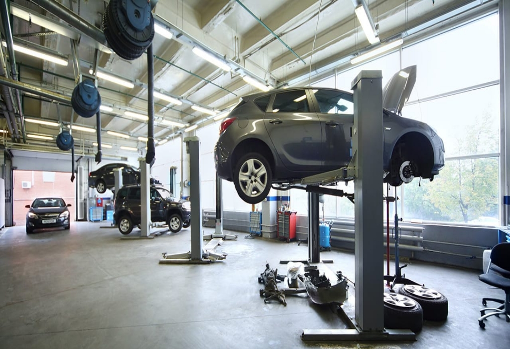 Automotive Used Car Repair Power System