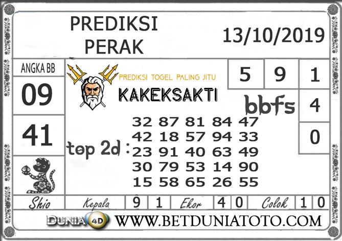"""Prediksi Togel """"PERAK"""" DUNIA4D 13 OKTOBER 2019"""