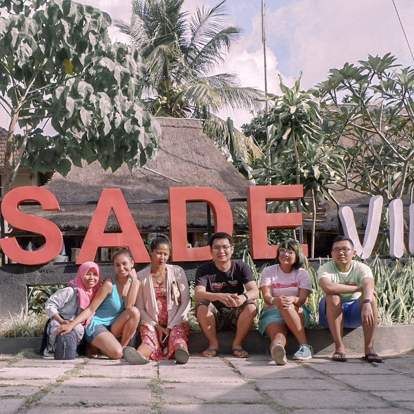 In front of Sade village