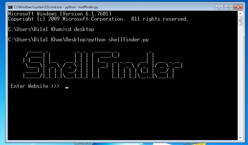 Shellfinder