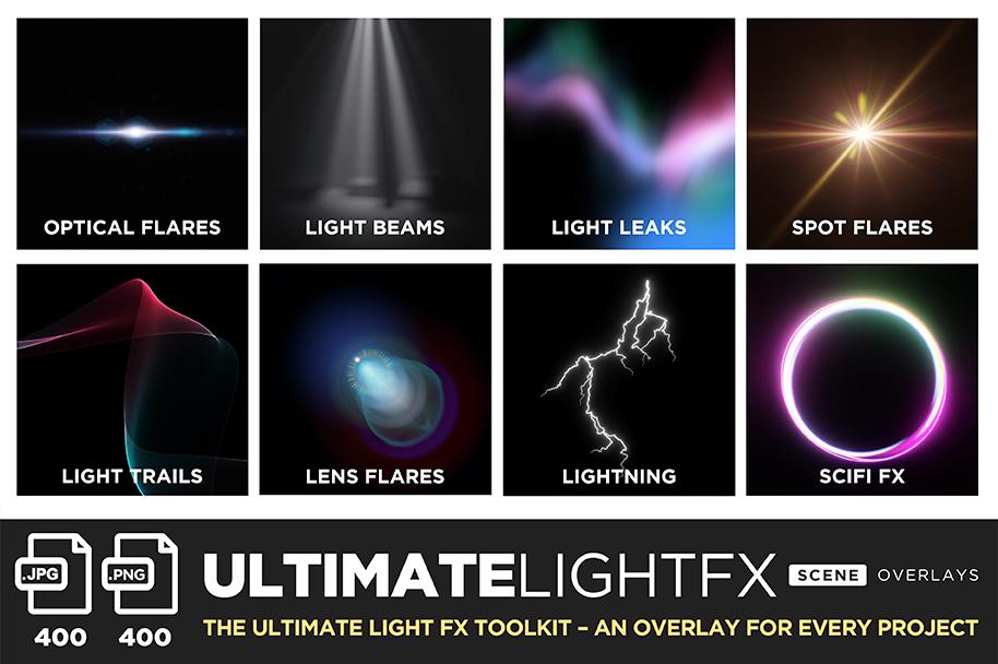 ultimate light fx bundle overlays title