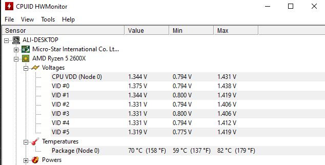 Question - Stuttering caused by high CPU temperature