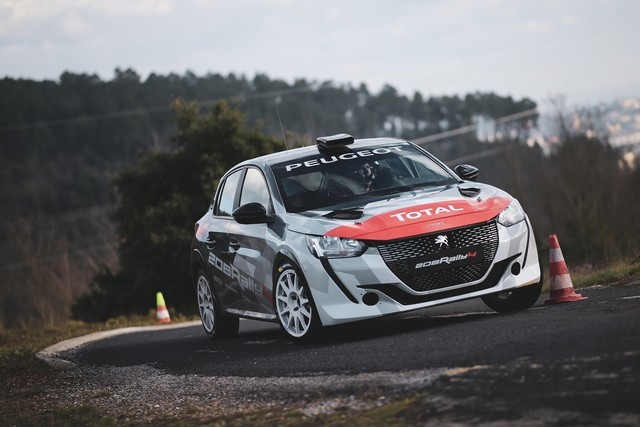 La 208 Rally Cup Fait Ses Débuts Au Mont-Blanc Avec La Nouvelle 208 Rally 4 ! 1-3