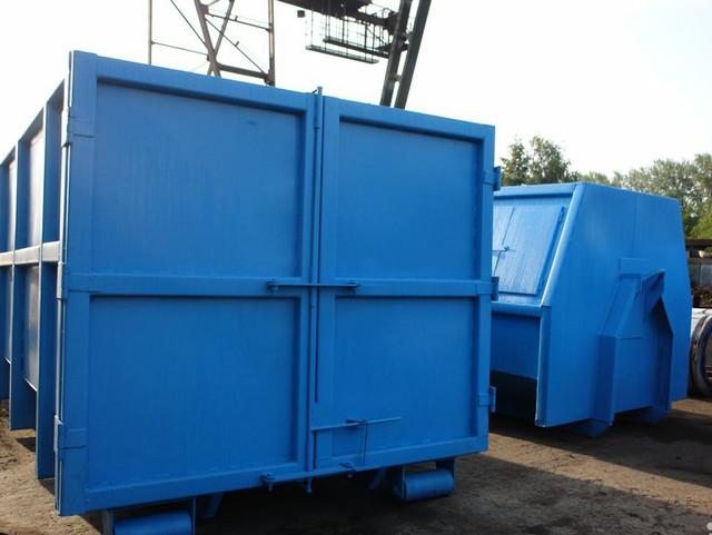 контейнер для металлолома установленный