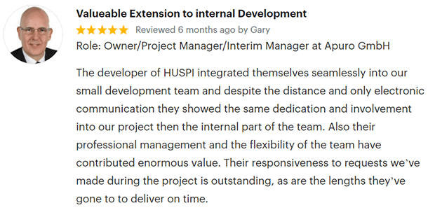 Review of HUSPI on GoodFirms